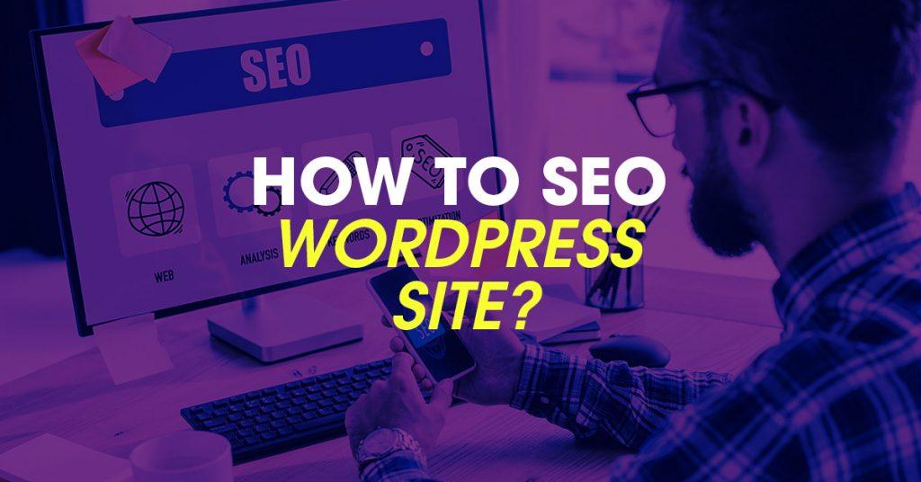 how to seo wordpress site