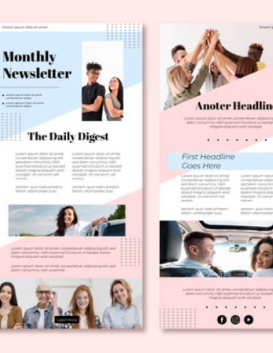 inbound marketing email newsletter